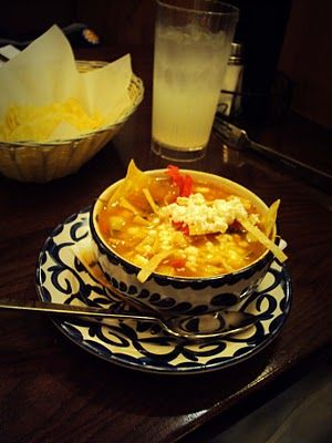 Sopa Azteca or Chicken Tortilla Soup is by far my favorite soup of all ...