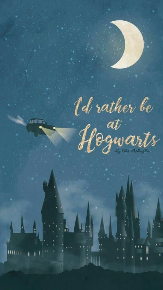 I D Rather Be At Hogwarts Lock Screen Phone Wallpaper Ford Anglia Harry Potter Harry Potter Background Harry Potter Wallpaper Harry Potter Art