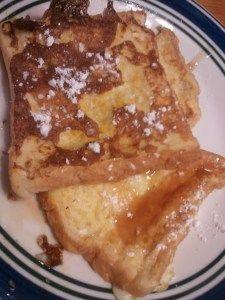 Zesty orange french toast - my aunt's recipe