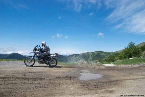 BMW F650 GS Dakar - Südfrankreich Fort des Mille-Fourches