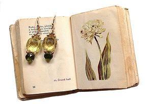 Eva Hanusova Artisan Jewelry Leather Accessories   Earrings