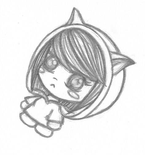 Emo Anime Chibi By Notorious Lemon D811qn5 Jpg 472 504 Anime Drawings Scary Drawings Easy Drawings
