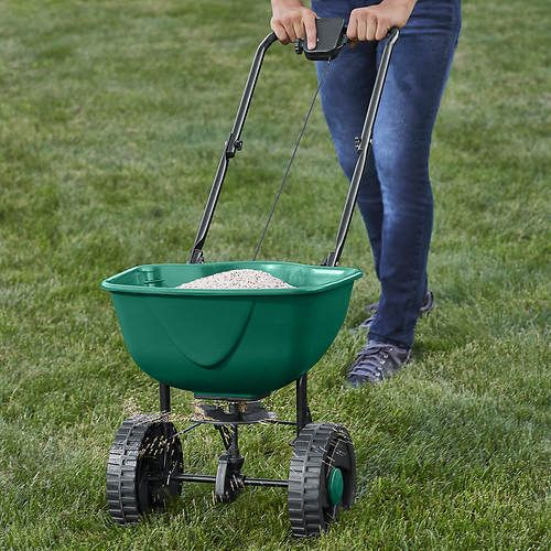 Distribute Grass Seed Fertilizer And More Evenly Broadcastspreader Stoneberry Greenthumb Grass Outdoors Green Thumb Grass Seed Garden Tools