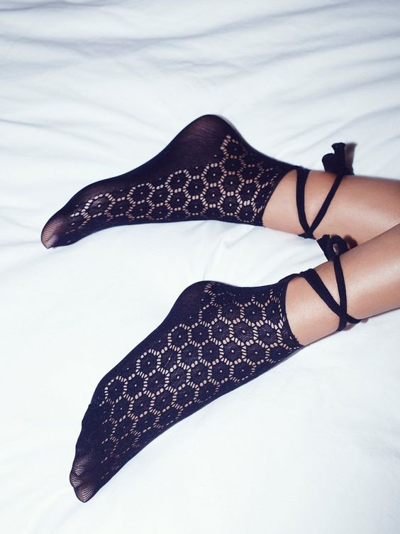 Pretty wrap socks