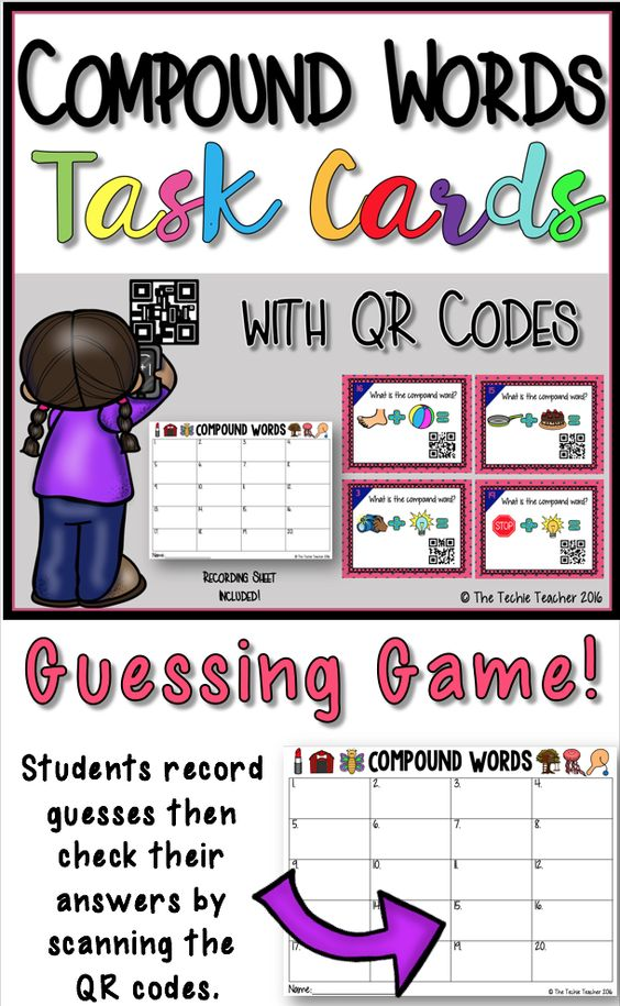 Qr codes, Task cards and Fun on Pinterest