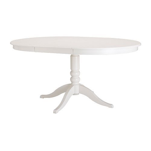 Breakfast Room Table: LIATORP Extendable table IKEA Extendable dining table  with 1 extra leaf seats 4-6; makes it possible