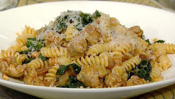 The Chew | Recipe | Mario Batali's Fusilli With Sausage