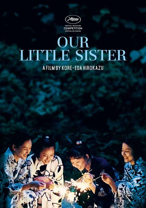 OUR LITTLE SISTER | Monday 10th August 6:30pm Comedy Theatre | Sunday 16th August 6:30pm Forum | Book now: http://miff.com.au/program/film/our-little-sister