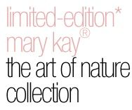 New Limited  Edition- Mary Kay  All of  Natures beauty comes to life  this season in make up that is fun and effortless to wear.  Spring shades fluid eye colors, dual lip glosses and nail lacquers, including Base/top coat. Available while supplies last,. Contact me. glamour-make-up