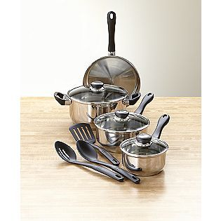 Tramontina -10 piece Stainless Steel Cookware Set