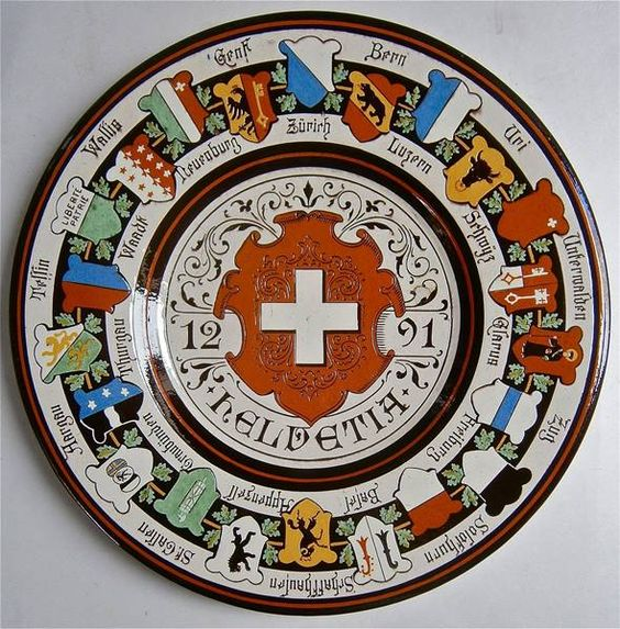 Platte Wanzenried Frank Keramik Schweiz - 01.01.0001 0:00:00 - 1