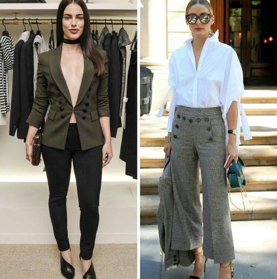 Inspirações sociais/fashion da Jessica Lowdnes e da Olivia Palermo, na NYFW. Para noite e para o dia.♥️✨ #glam #jessicalowndes #oliviapalermo #fashionstyle #nyfw2016