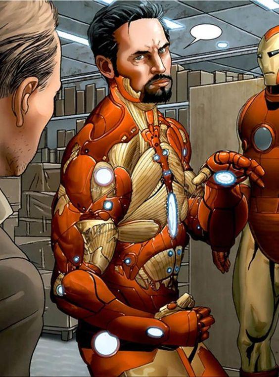 Will Iron Man wear BLEEDING EDGE Armor in Captain America ...
