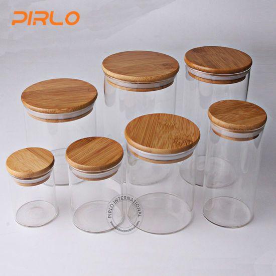 Hot Item 90ml 170ml 300ml 400ml 500ml600ml800ml Glass Jar With