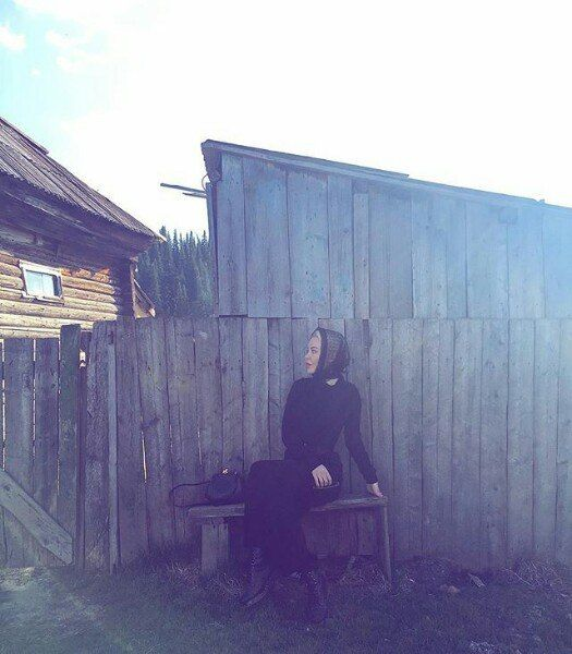 #UlyanaSergeenko at her hometown, Ust-Kamenogorsk, also known as Öskemen, in Kazakhsthan.