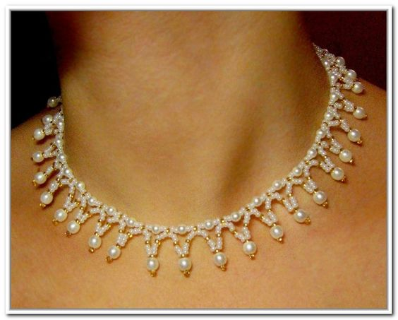 Seed Bead Patterns Necklace
