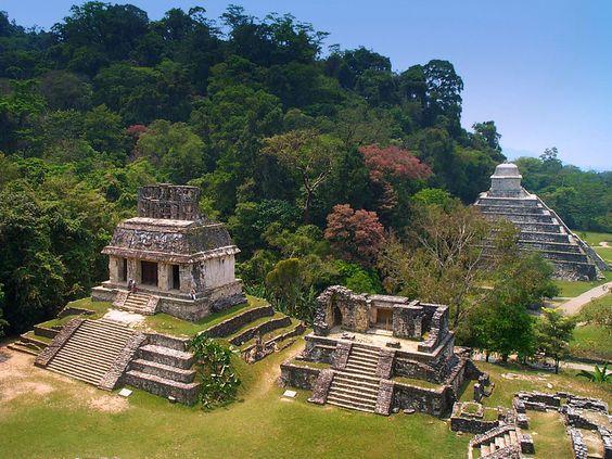 Un #OrgulloMexicano reconocido por la UNESCO. Palenque, Chiapas es uno de los destinos turísticos más importantes del estado.