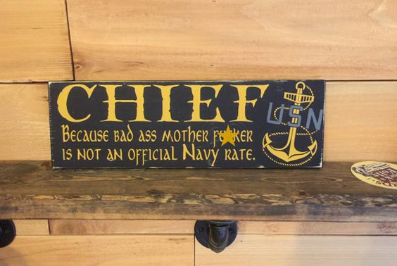 Chief because bad ass mother fucker is not an by WoodenItBeNice4