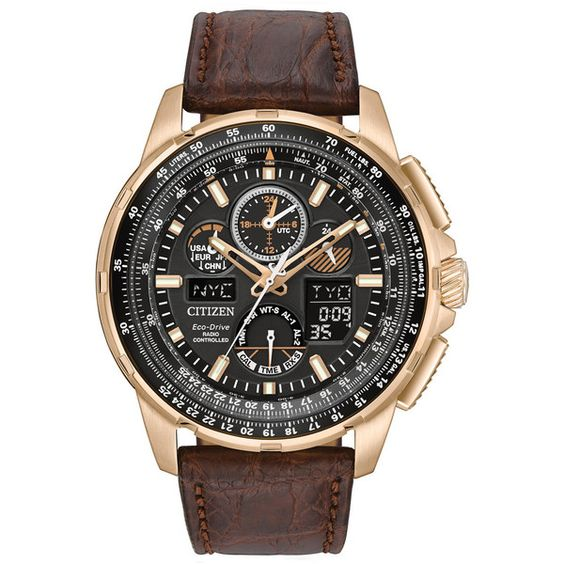 Men's Citizen Eco-Drive Skyhawk A-T Watch (2,670 SAR) ❤ liked on Polyvore featuring men's fashion, men's jewelry, men's watches, mens stainless steel digital watches, citizen mens watches, mens chronograph watch, mens black face watches and mens watches