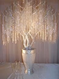 Crystal Tree - Surround it by place cards for reception seating