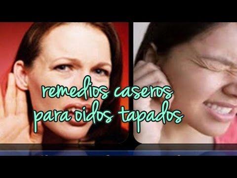 Remedios Caseros Para Oidos Tapados Con Aceite De Oliva, Manzanilla - YouTube