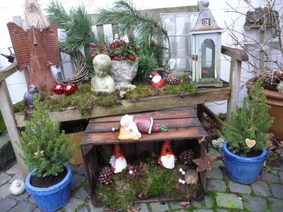 Garten on pinterest for Winterdeko garten