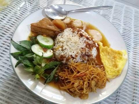 Resep Nasi Ulam Betawi Kuah Oleh Melz Kitchen Resep Resep Masakan Asia Resep Makanan Masakan Indonesia