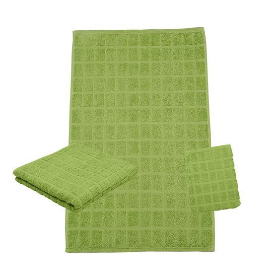 Ross Uni-Walk Handtücher Campus 9007 kiwi in flauschiger Baumwolle - farbe fürs badezimmer