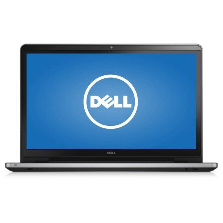 """Dell Silver 17.3"""" Inspiron 5000 Series i5755-4287SLV Laptop PC with AMD A8-7410 Processor, 8GB Memory, touch screen, 1TB Hard Drive and Windows 10 Home"""
