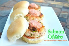 Souffle Bombay: Salmon Sliders
