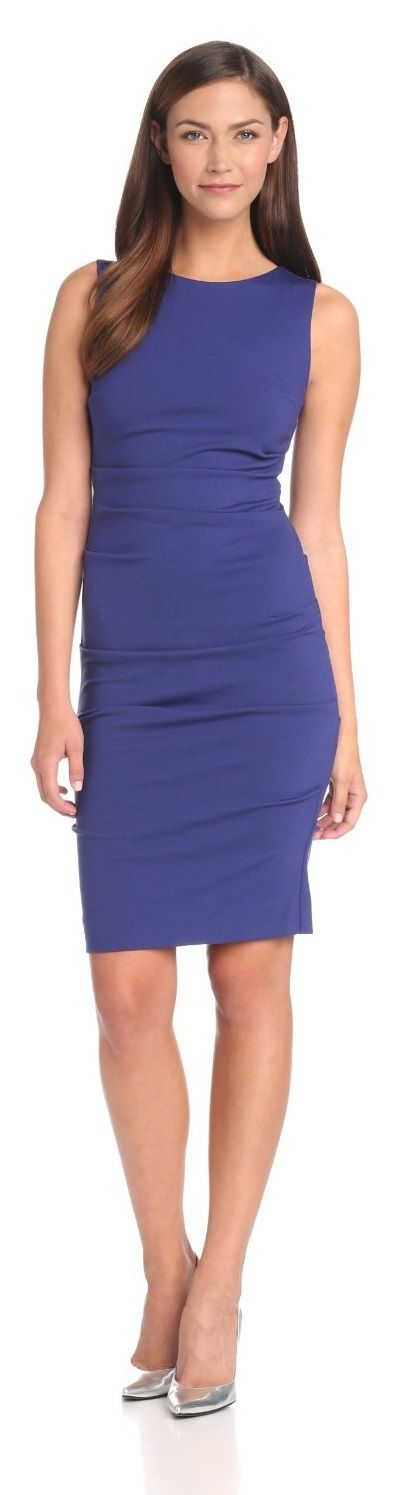 Sophisticated dress from Nicole Miller.