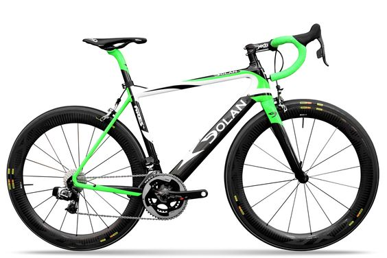 Dolan Ares SL Carbon Road Bike - Sram Red 22  - E-TAP