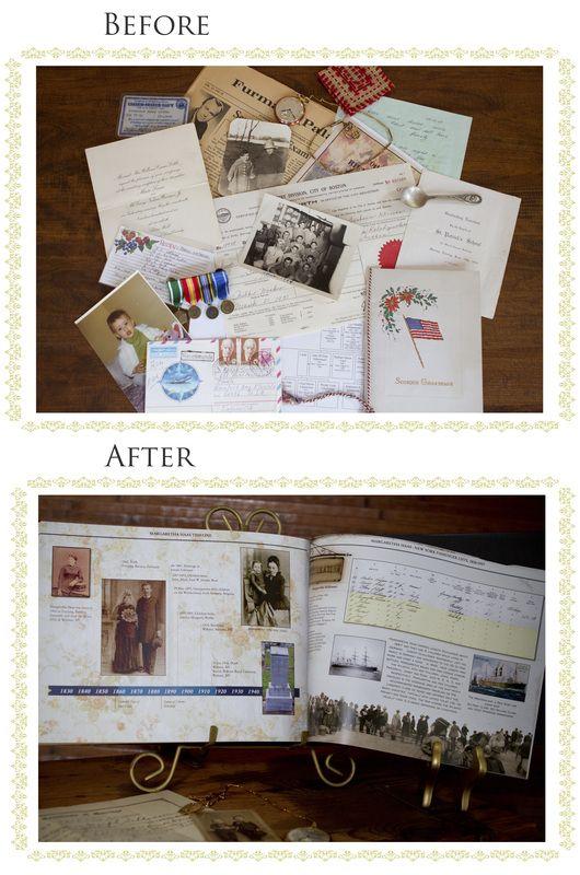 Personalized Family History Books: Recipe book, yearbooks, personal and family history books