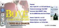 Grande weekend di boxe il 12 e 13 aprile a Grottaglie (Taranto)