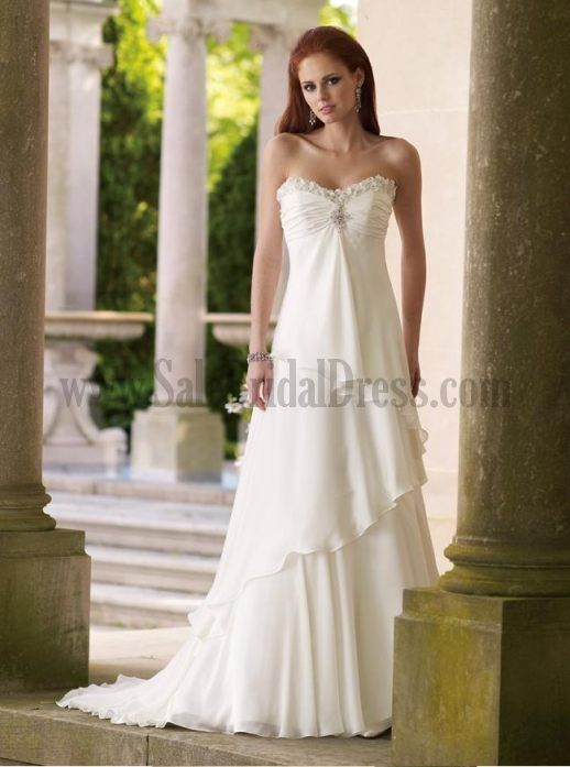 Outdoor Casual Wedding Dresses - Ocodea.com