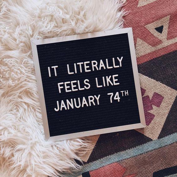 January, bye. : @linsanitytherebel #homedecor