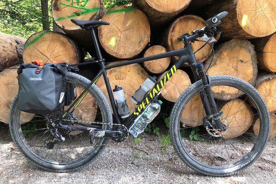 Gepacktrager Fur S Bikepacking Die Unmogliche Losung Mtb Radtasche Satteltasche