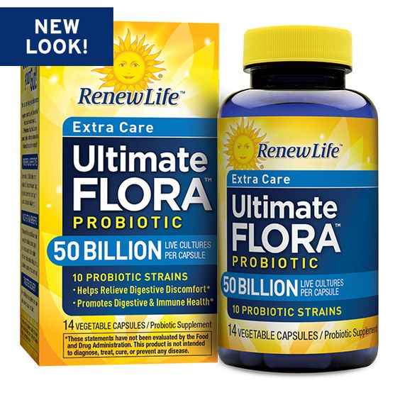 Ultimate Flora Extra Care Probiotic 50 Billion (Formerly Critical Care)