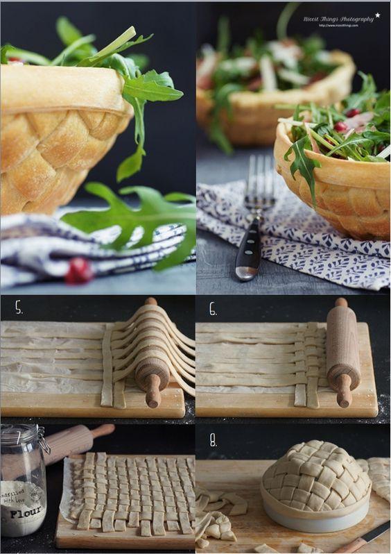 Pastry Salad Bowls