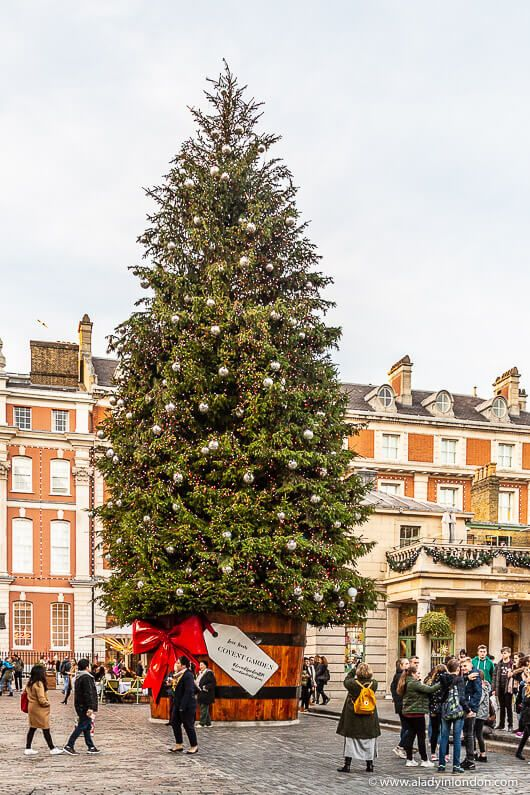 Best Christmas Tree 2020 London Covent Garden Christmas   Photos of the Best of the Season in
