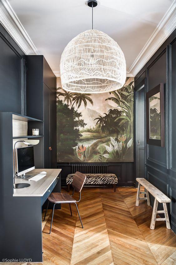 Miroir Xxl Et Rond Traits D Co Magazine En 2020 Idee Entree Maison Interieur Nordique Deco Interieur Salon