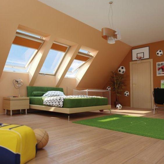 Una habitación temática para los amantes del fútbol. Inspírate con nuestras #ideasconvida que te presentamos. #micasa