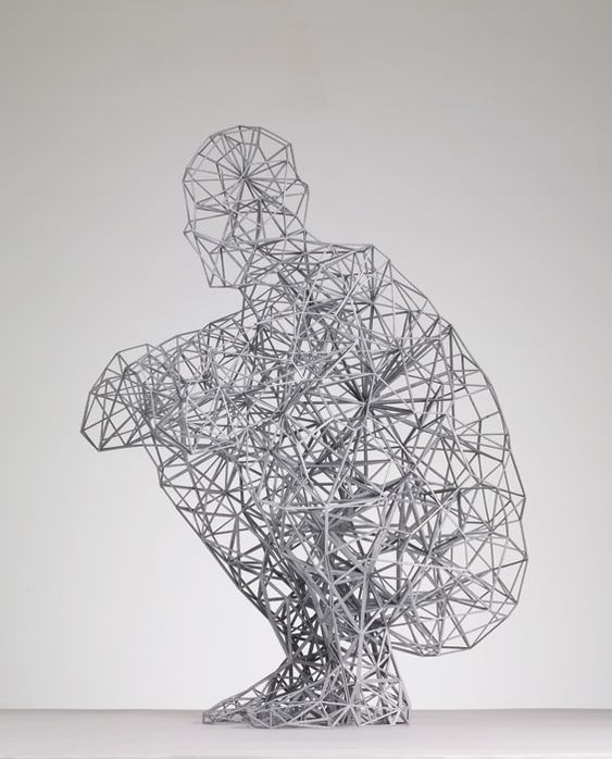 Antony Gormley's Exposure.