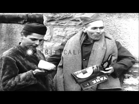Group of US, Czech, Russian, Yugoslavian prisoners cheering, waving and laughing ...HD Stock Footage - YouTube 14th Armored Division