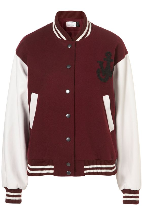 J.W. Anderson for Topshop Collegejacke