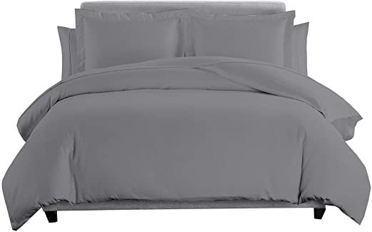 Sheetsnthings Solid 600 Thread Count 100 Percent Cotton 7pc California King Bedding Set Duvet Cover And Shams With California King Bedding Sets Bed Sheets Bed