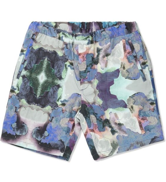 Uniforms for the Dedicated Splash Paint Yum Yum Garden Shorts