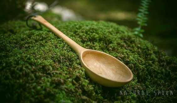 Romain Bayle made this lovely spoon