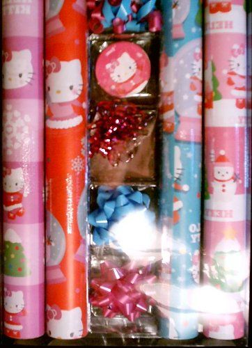 Hello Kitty Gift Wrap Ensemble *** Check out the image by visiting the link.