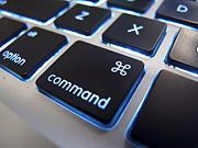 """Making Symbols on a Mac computer using the """"Option"""" key (Even though it shows the Command key in pic...)"""